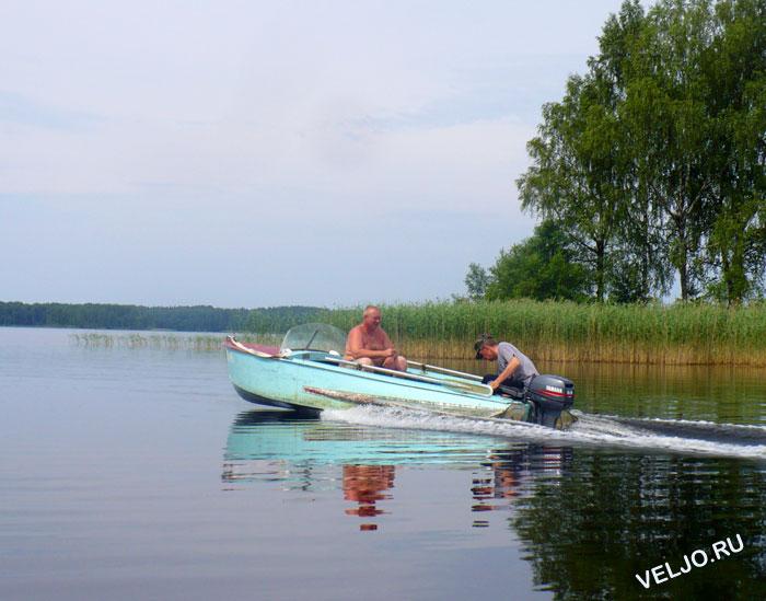 ловля леща на озере пирос
