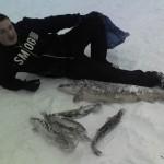 Зимняя рыбалка на Велье