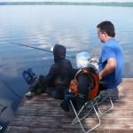 Рыбачим всей семьей