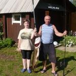 Рыбаки выловили на озере Вельё щуку весом больше 10 кг